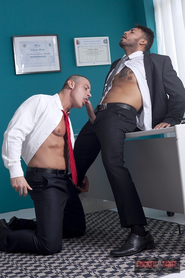 Viktor Rom & Marc Ferrer - Gay - Busy Workmates: If